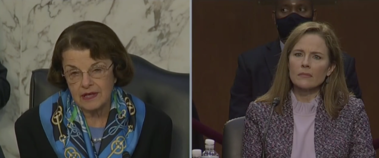 VIDEO: Top Democrat Admits She Is 'Really Impressed' With Judge Amy Coney Barrett